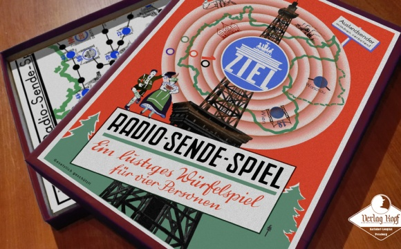 Very unconventional boardgame from Verlag Kopf production.