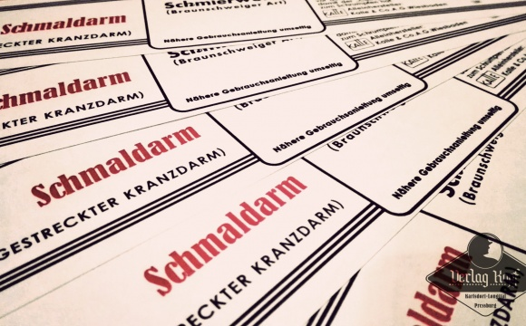Simple label (wrapper) for bratwurst/sausages.