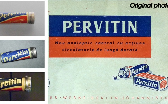 Pervitin - civil design package 40th years