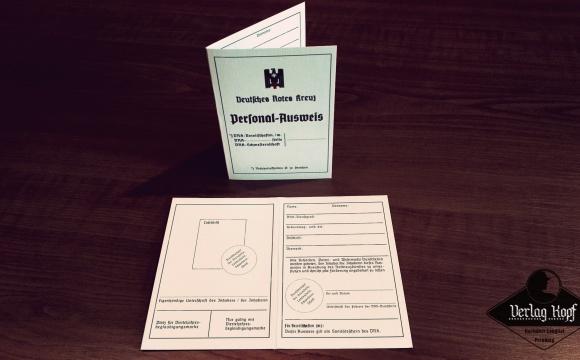 Deutsches Rotes Kreuz personal ID card.