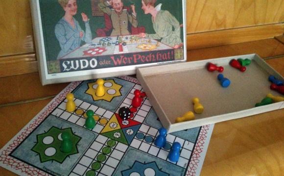 Great original LUDO oder Wer Pech Hat! board game (approx.