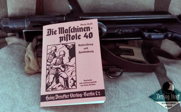 The machine gun 40.