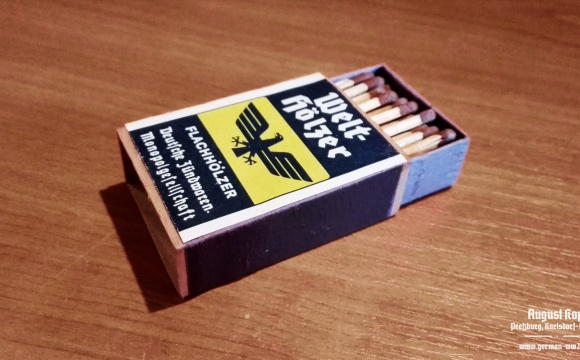Complete box of historical matches.
