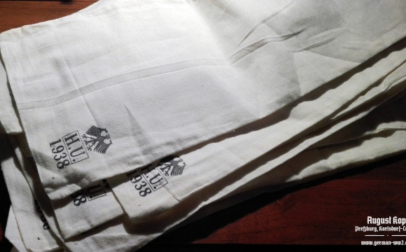 We offer new linen bags for personal use.