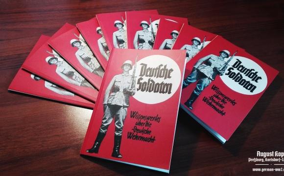 Early war handbook printed in Reichsprotektorat Böhmen und Mähren, 1939 with attractive cover design.
