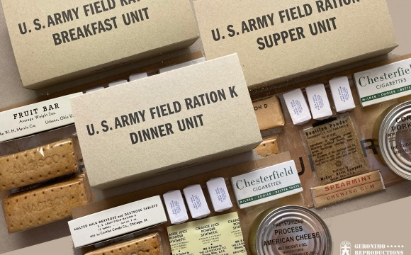 Special offer of very unique daily US rations.