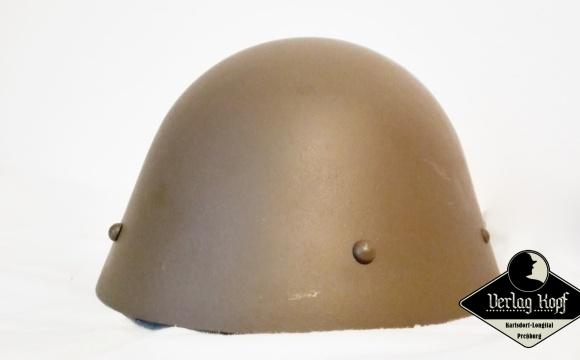 Original steel war helmet, model used since 1932 by Czechoslovak and then Slovak army.