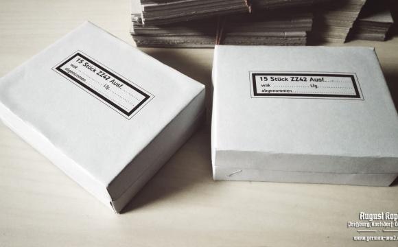 Empty box for ZZ42 15 pieces.