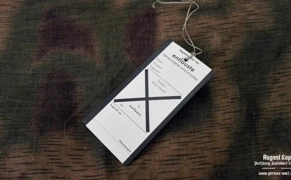 Set of 25 tags - Entlauste / Deloused