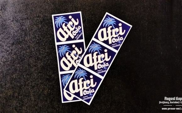 Quality stickers printed on water resistant paper, dedicated for glass bottles.