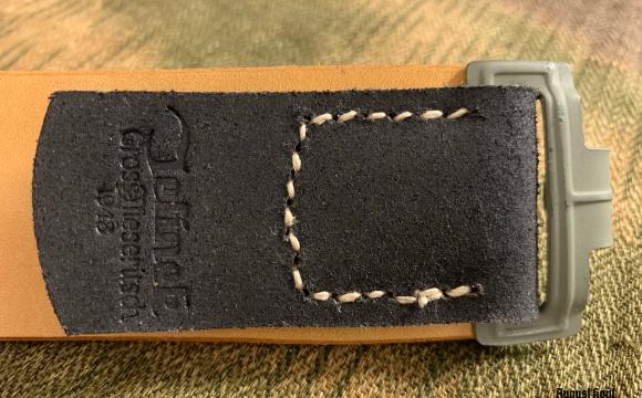 Leibriemen - Leather Belt Early War custom size