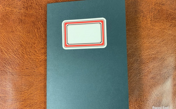 Big format A4 notebook for whatever you need.