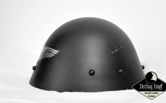 Original steel war helmet, model used since 1932 by Czechoslovak army.