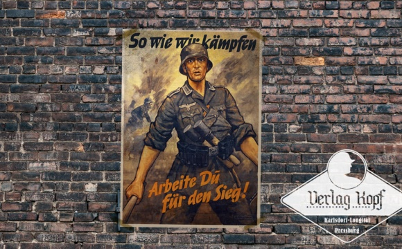 A huge poster from WW2 era