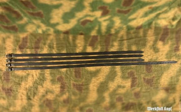 Nice set of riemens for Truppenfahrrad Pallas gepäcktrager.