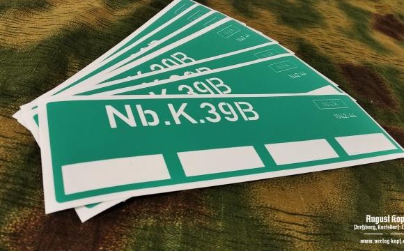 Plastic sticker stencil for Nebel kerzen.