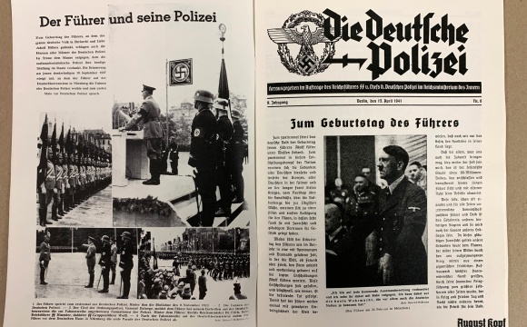 Midwar police magazine from Aprile 1941.