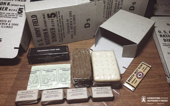 """PARTIAL DINNER UNIT (PDU) - was part of the 10 in 1 ration developed in 1943, widely inspired by the K rations, thus it's early name """"US Army Field ration K (WITHOUT MEAT)."""