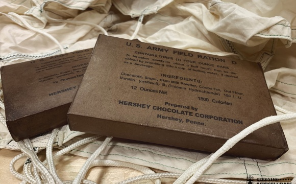 Extremely rare package of chocolate dedicated for US pilots survival kits.