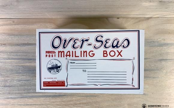 US overseas mystery package