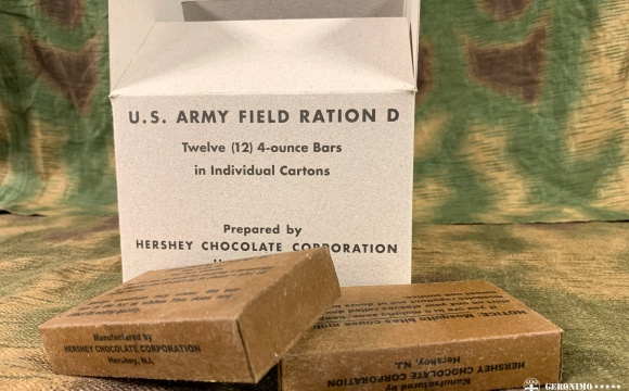 An authentic complete box, full of 4oz chocolates.