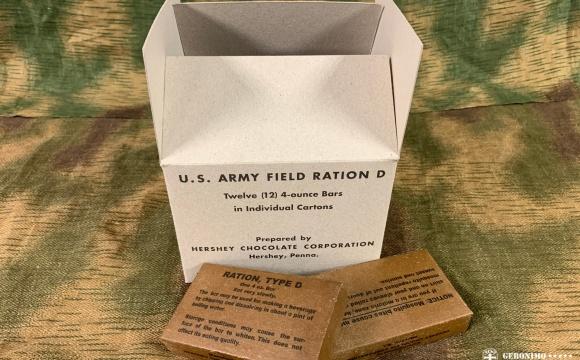 US D RATION MASTER CARTON 12x 4OZ  chocolate