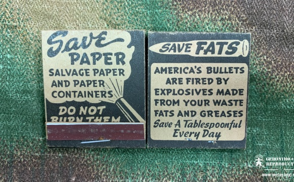 US match book SaverPaper