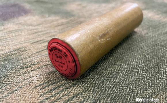 New inert pionier props made of wood.