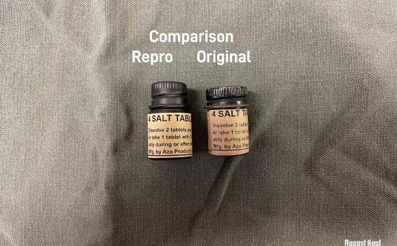 Salt tablets (empty)