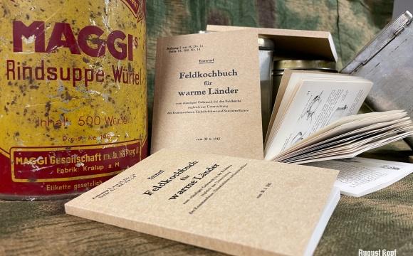 Pocket handbook for Wehrmacht field chefs, published by Oberkommando der Wehrmacht.