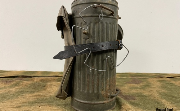 Original canister with rest of original paint as displayed.