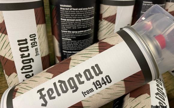 Original feldgrau paint based on WW2 color starting by 1940.