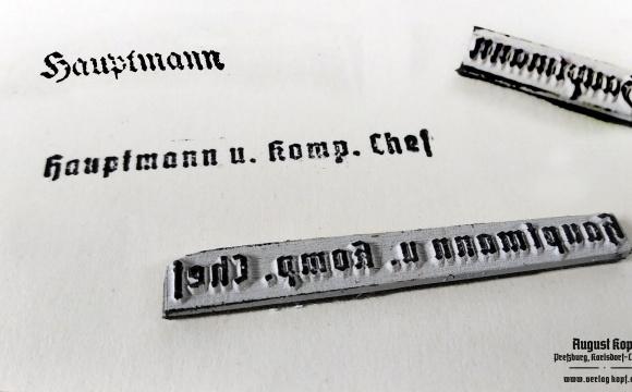 Stamps Hauptmann and Hauptmann u.