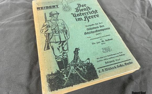 Der Dienstunterricht im Heere - Ausgabe für den Schützen der Schützenkompanie.