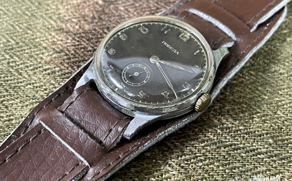 Postwar Russian watches made based on German version.