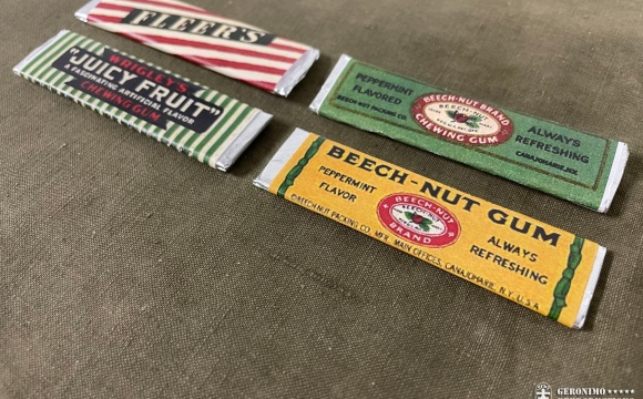 Set of 4 chewing gums