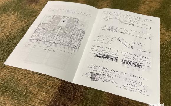 Richtlinien fur Sammelanlagen - interesting German regulation for war cementeries from 1944.